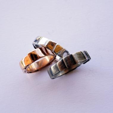 """rings - """"papiers de soie"""" unisex collection"""