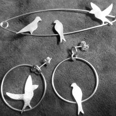 sur le fil - birds